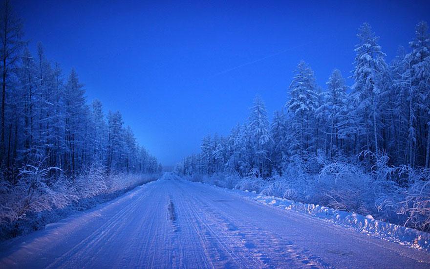 Drumul Oaselor - singura ruta catre Oymyakon