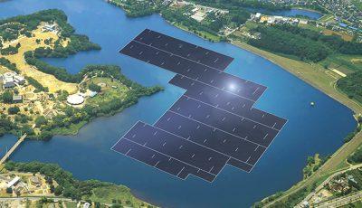 centrala solara plutitoare