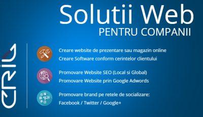 cril dev - promovare website